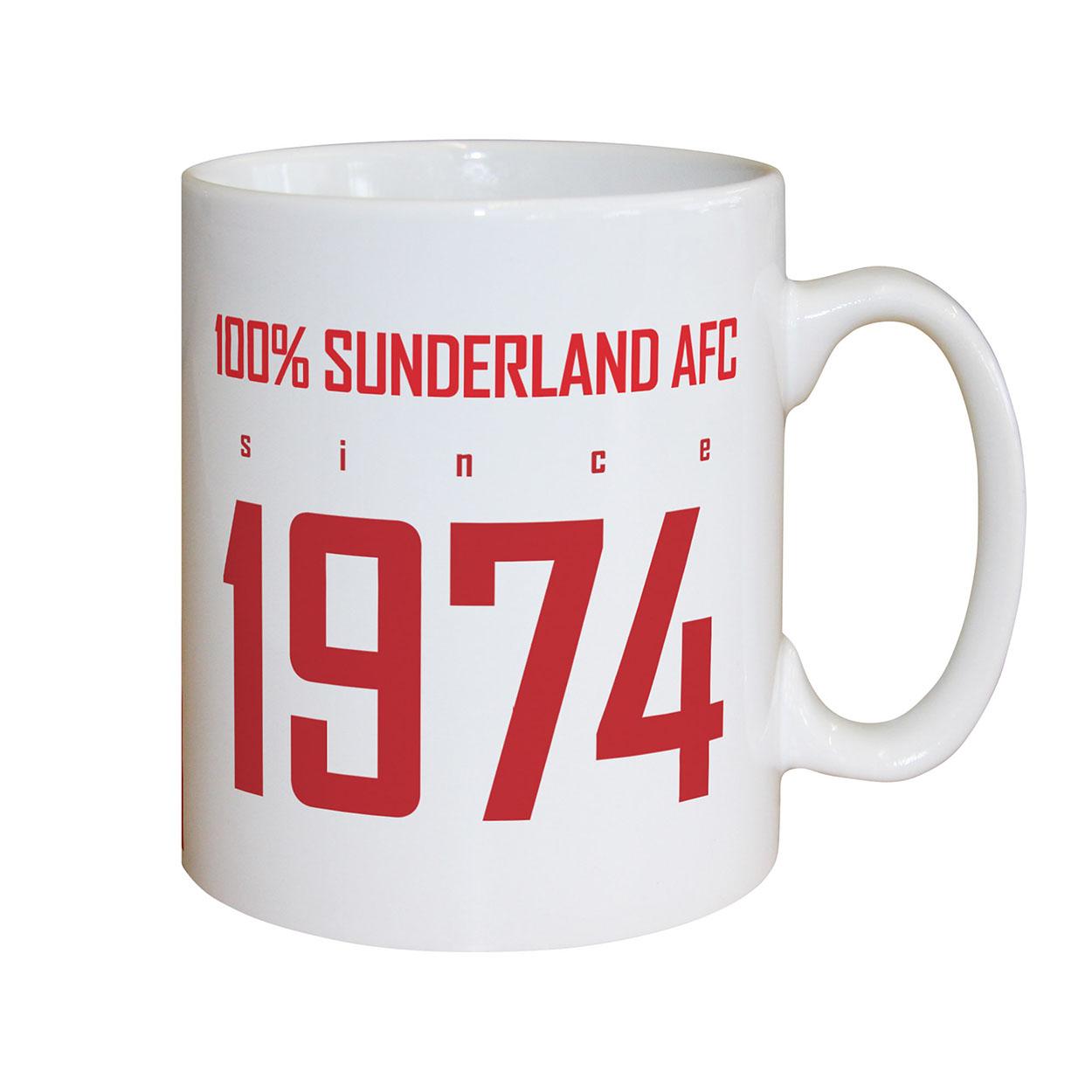 Sunderland AFC 100 Percent Mug
