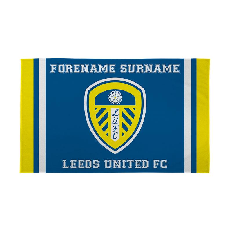 Leeds United FC Crest 5ft x 3ft Banner