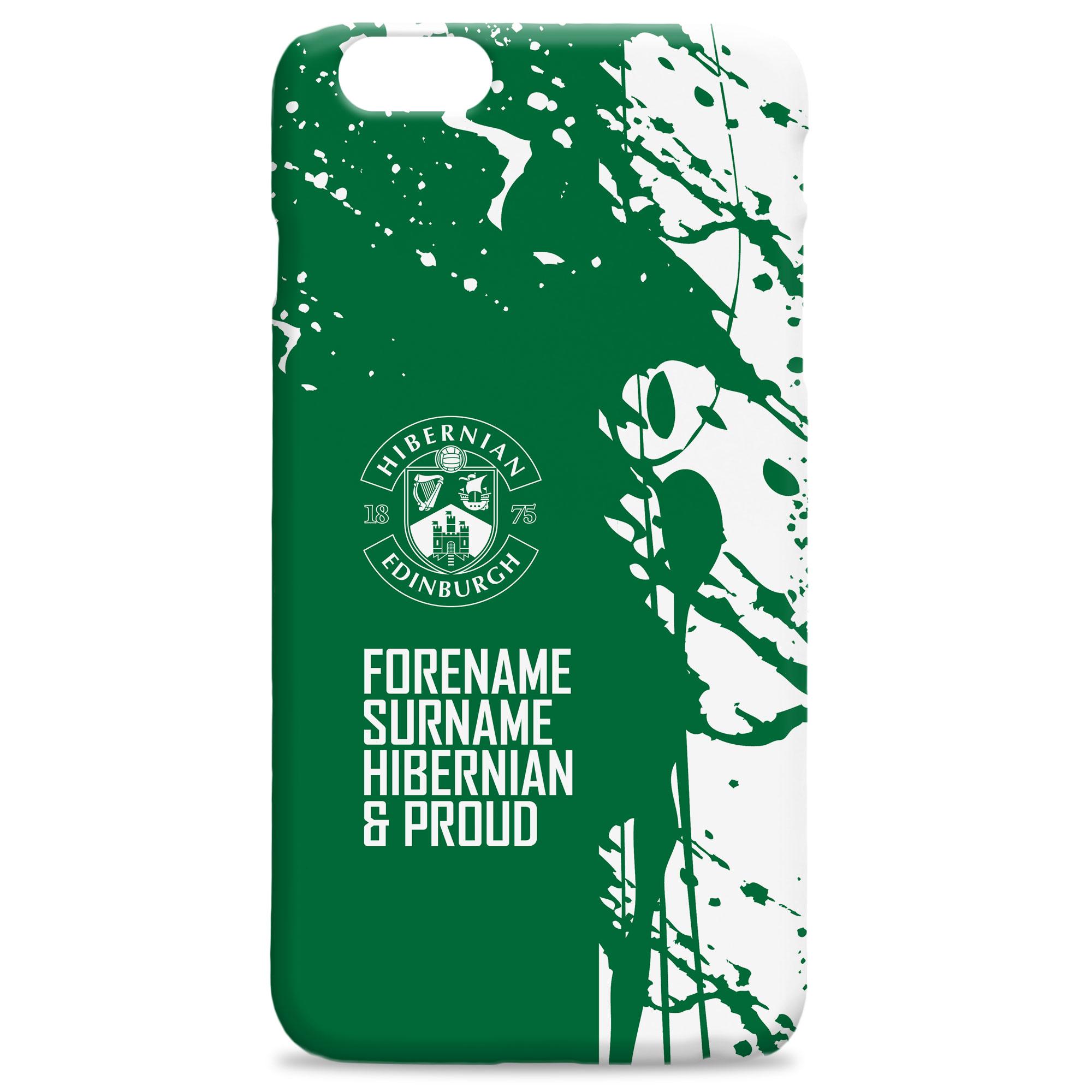 Hibernian FC Proud Hard Back Phone Case