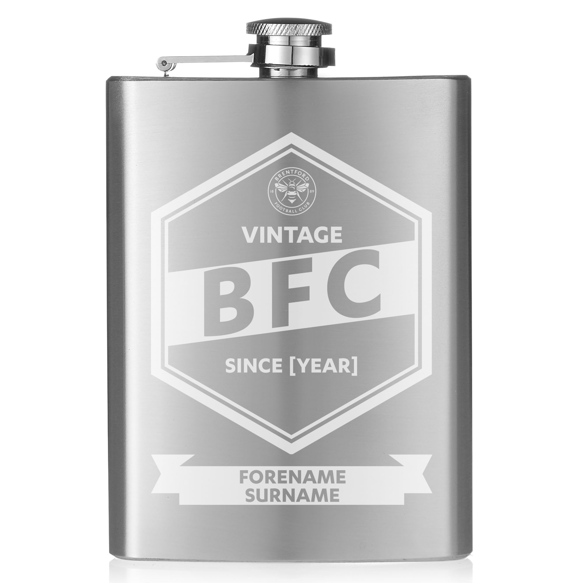 Brentford FC Vintage Hip Flask