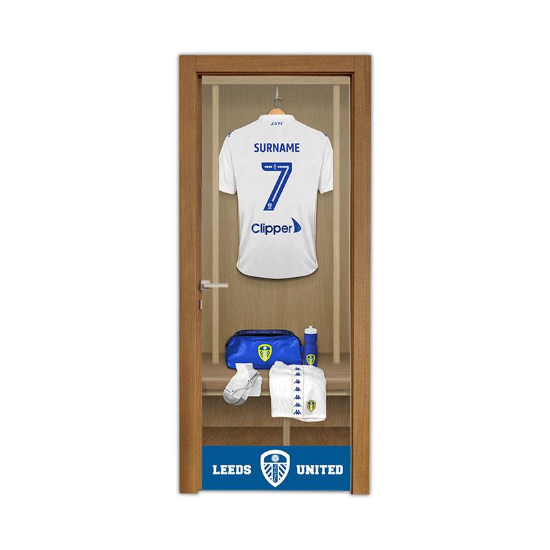 Leeds United FC Dressing Room Door Banner
