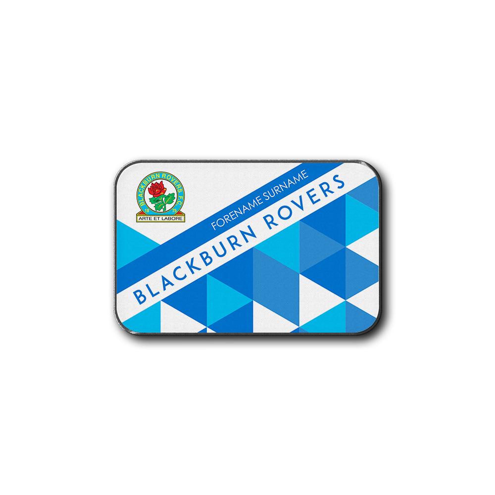 Blackburn Rovers FC Patterned Rear Car Mat