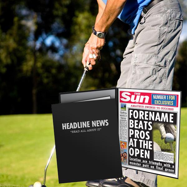 The Sun Golf News Folder - Male