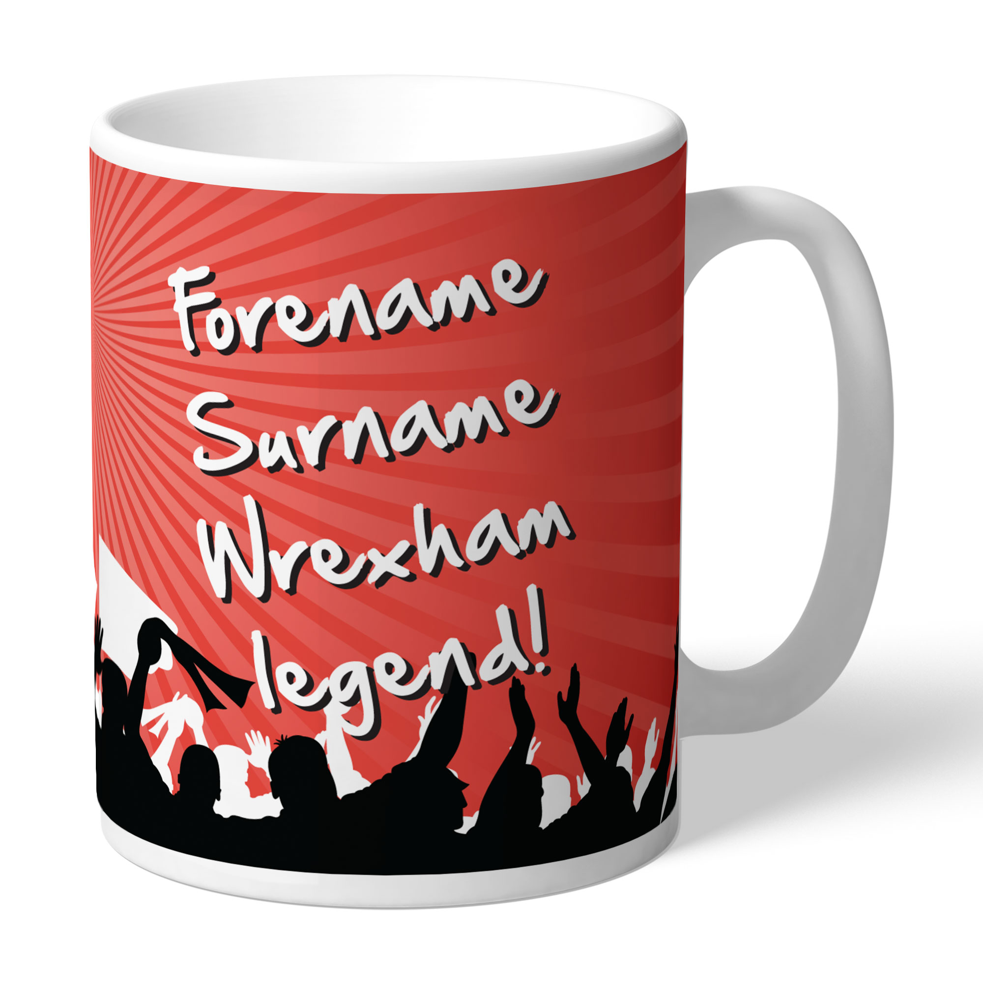 Wrexham AFC Legend Mug