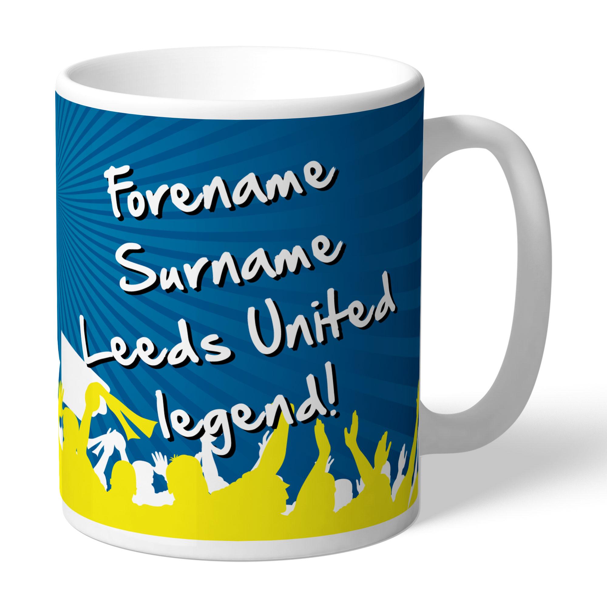 Leeds United FC Legend Mug