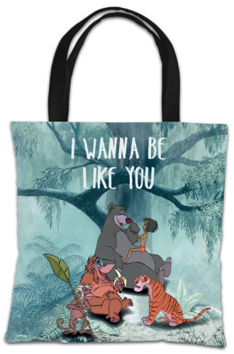 Disney The Jungle Book 'I Wanna Be Like You' Tote Bag