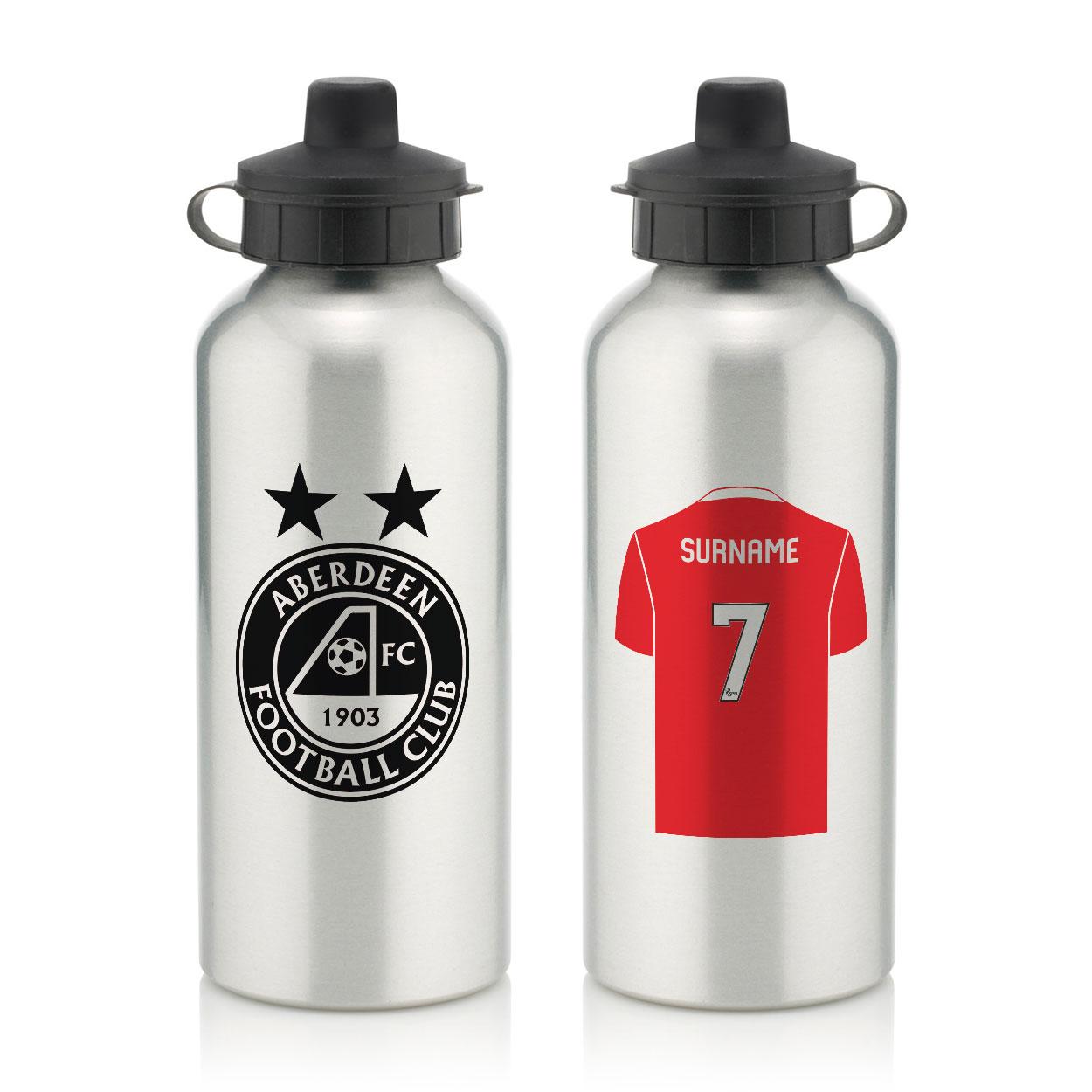 Aberdeen FC Aluminium Water Bottle
