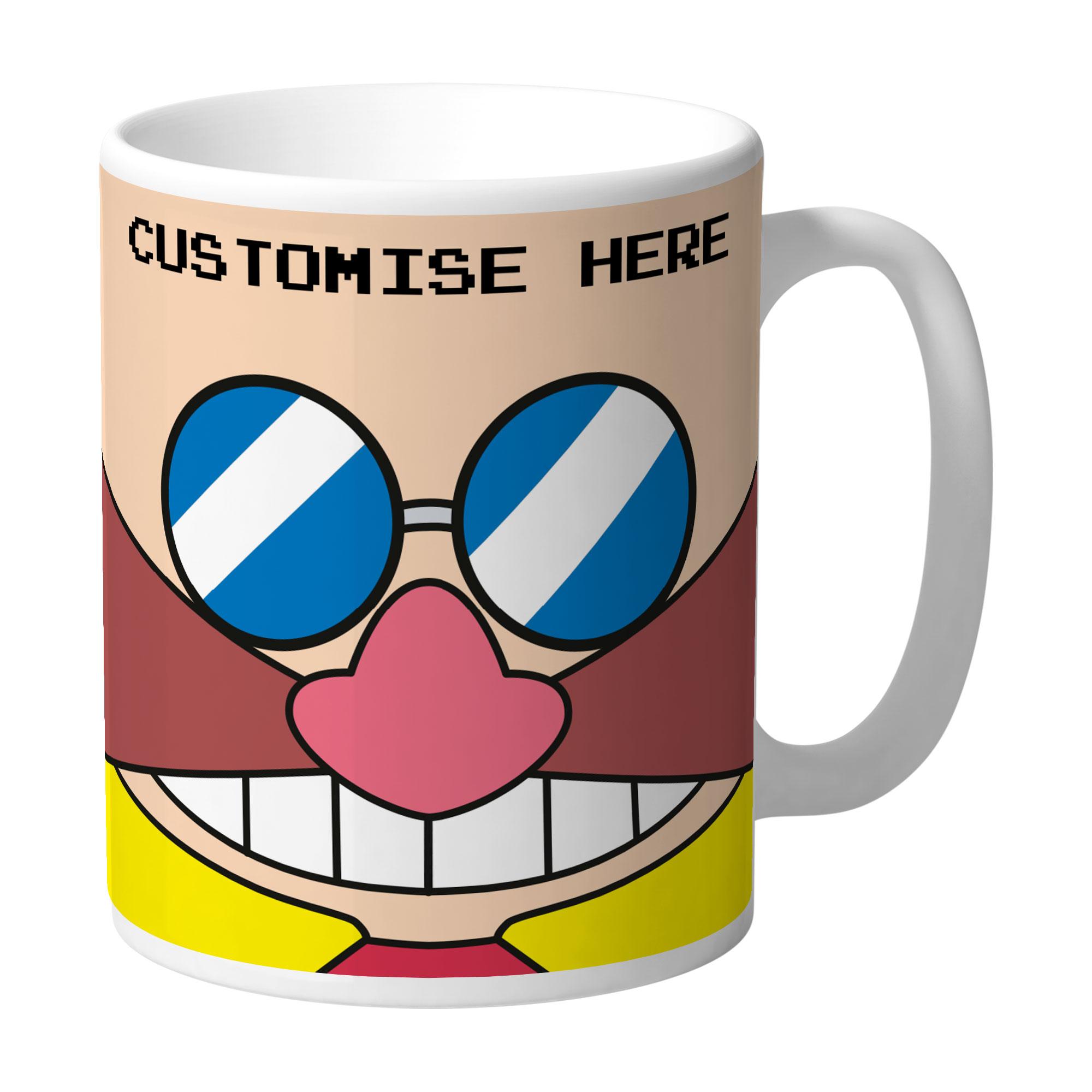 Mug - Eggman Face - Classic Sonic