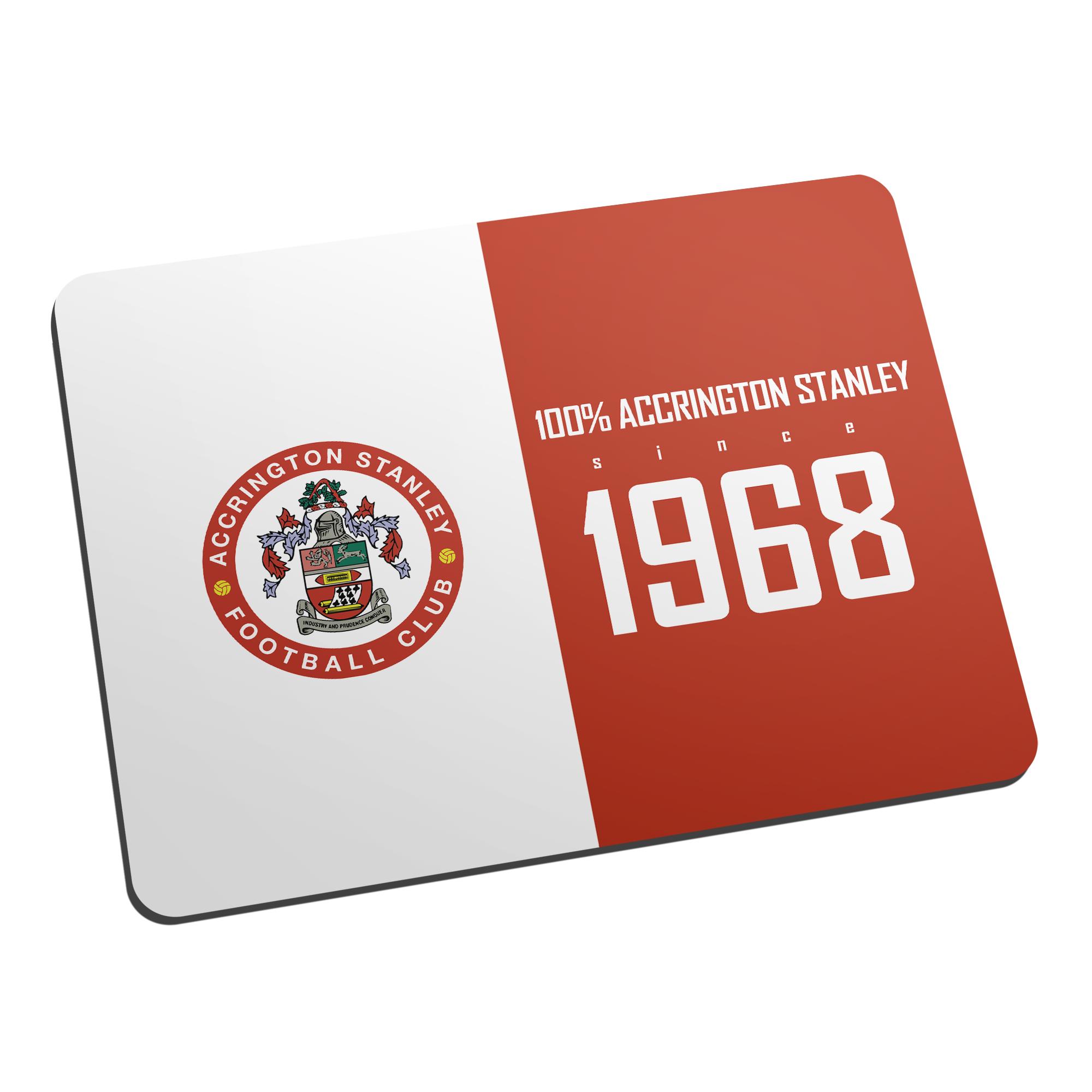 Accrington Stanley 100 Percent Mouse Mat