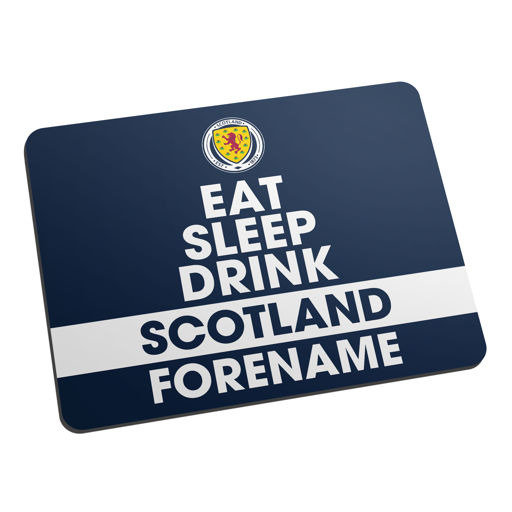 Scotland Eat Sleep Drink Mouse Mat