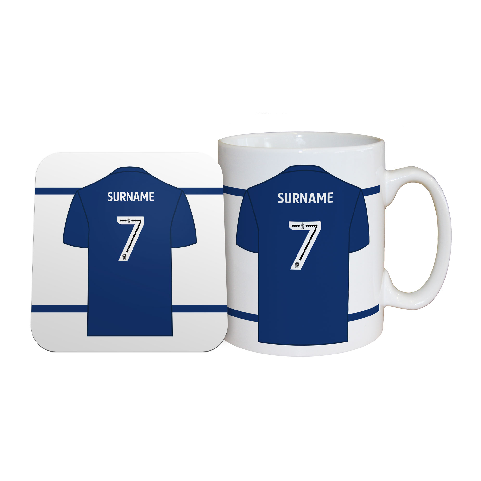 Millwall FC Shirt Mug & Coaster Set
