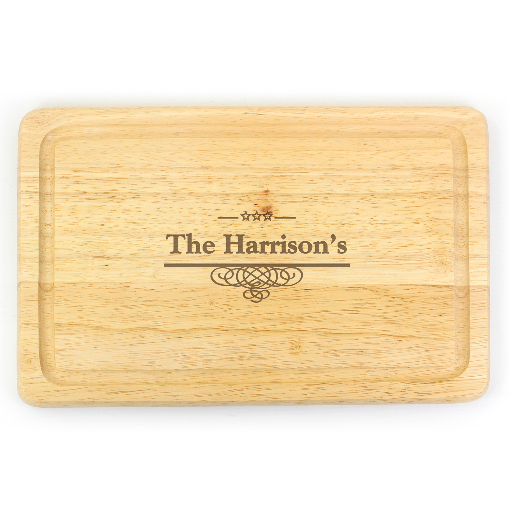 Engraved Decorative Large Chopping Board
