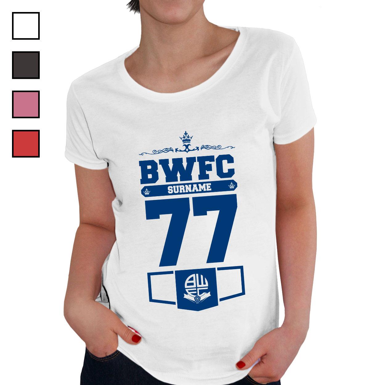 Bolton Wanderers FC Ladies Club T-Shirt