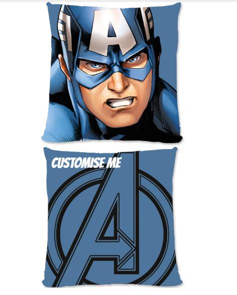 Marvel Avengers Assemble Captain America Large Fiber Cushion