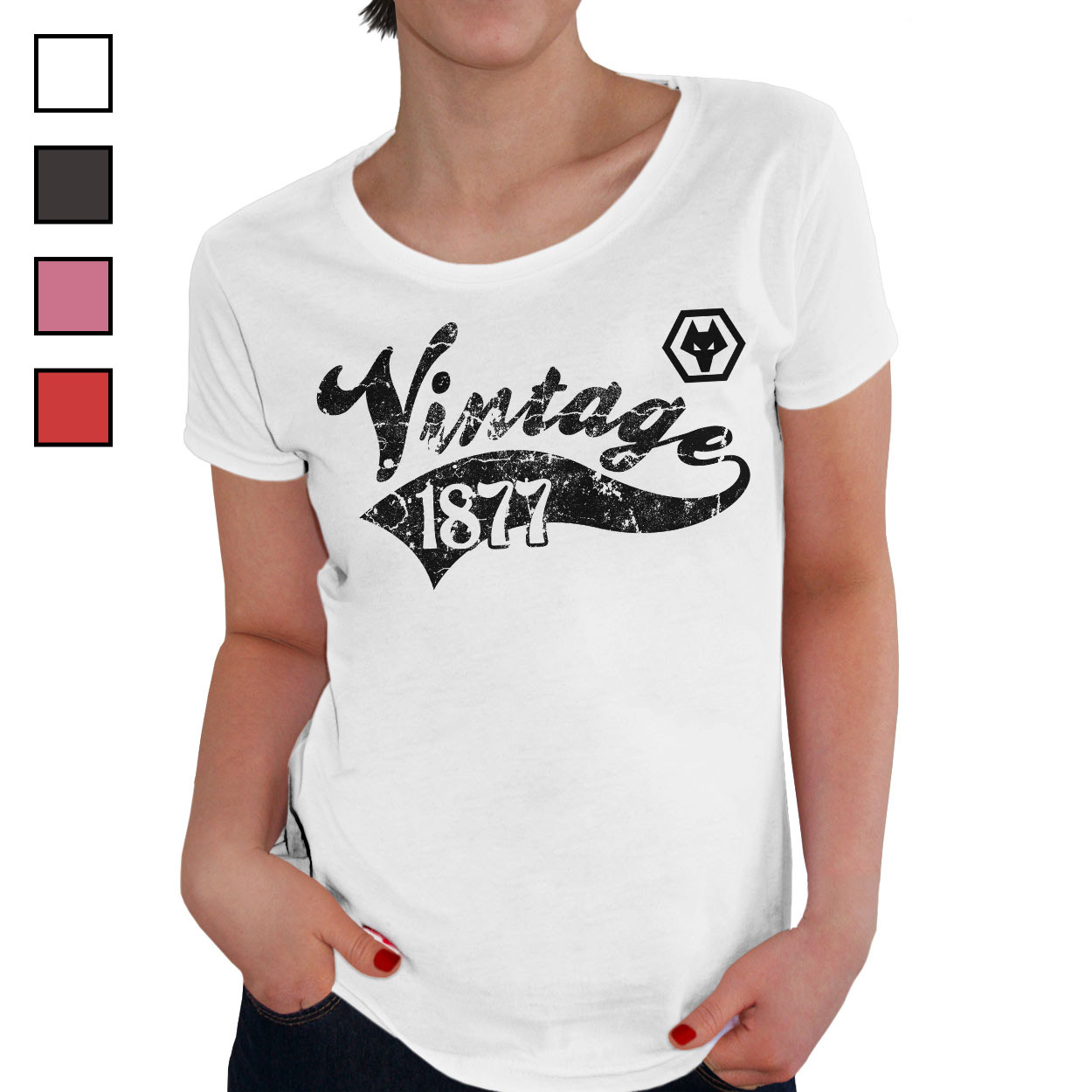 Wolves Ladies Vintage T-Shirt