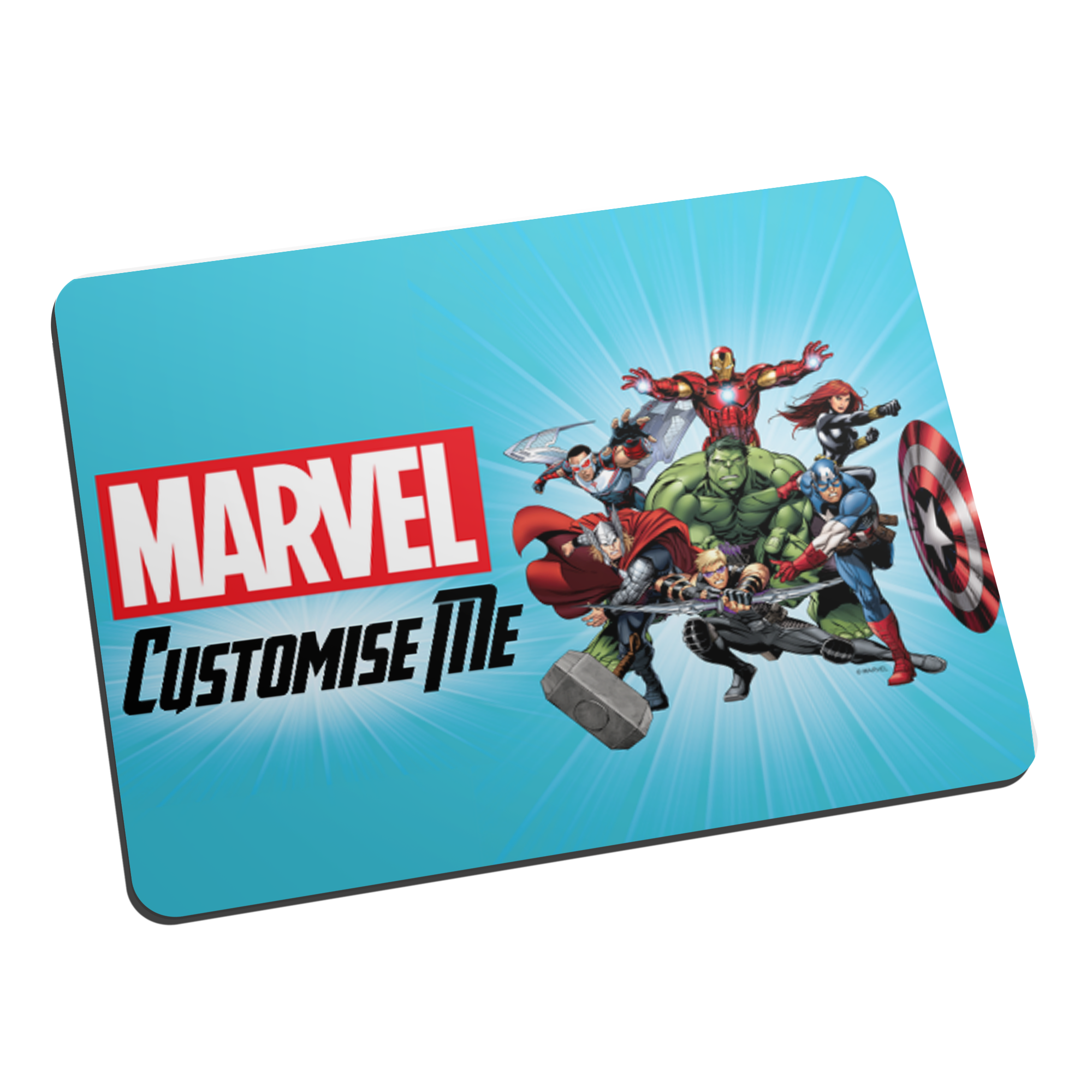 Marvel Avengers Group Mouse Mat