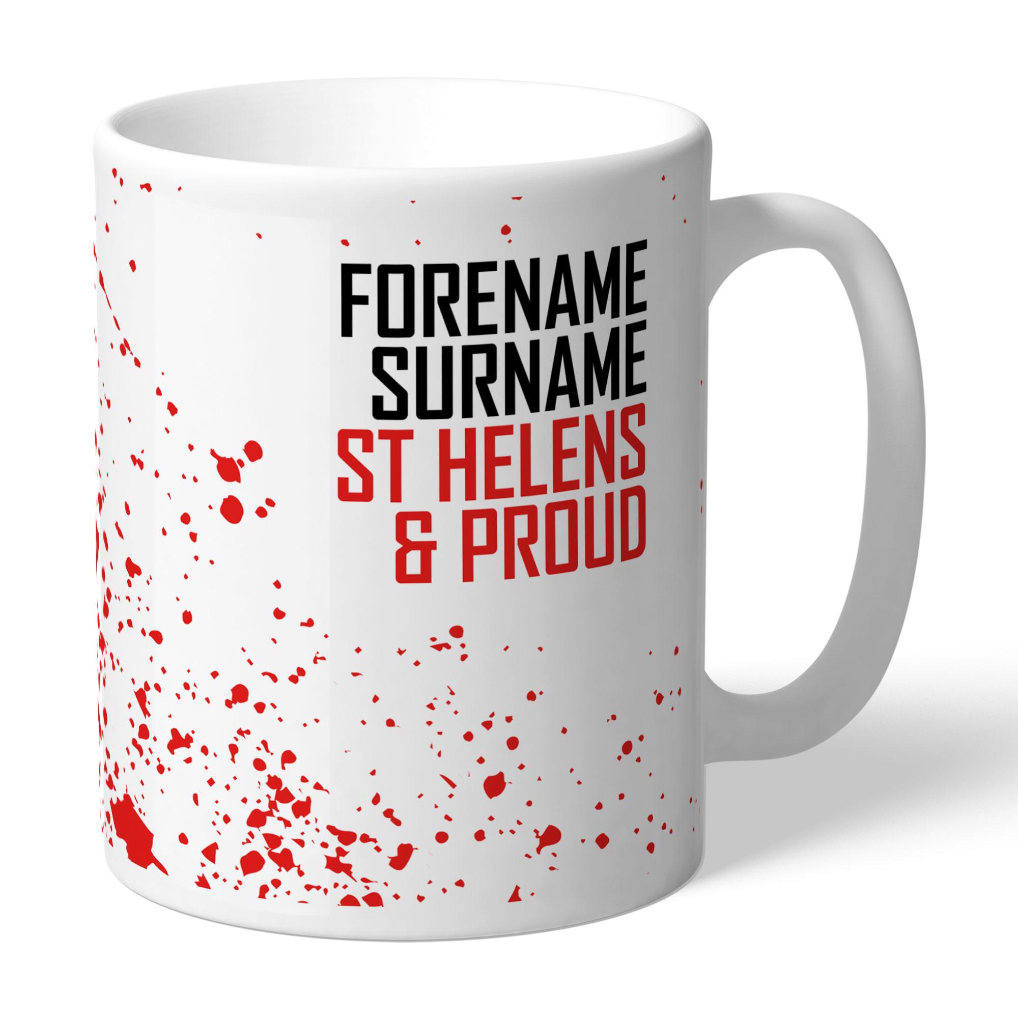 St Helens Proud Mug