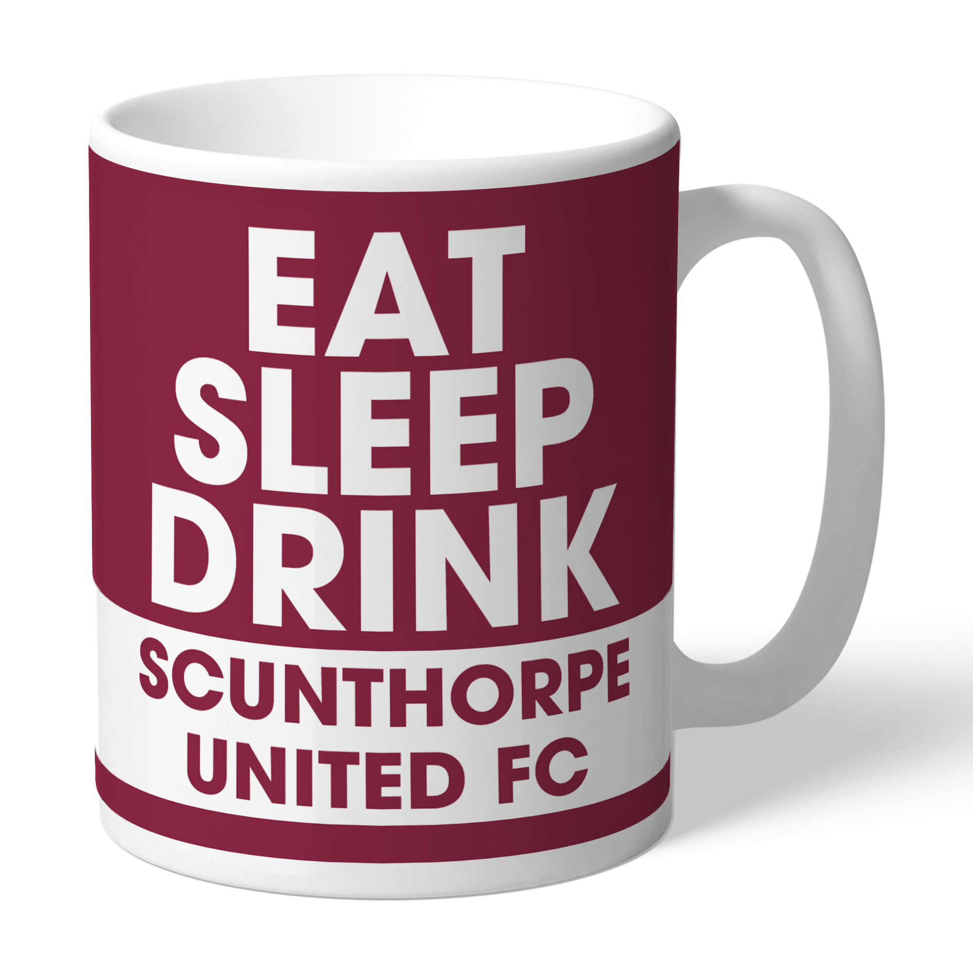 Scunthorpe United FC Eat Sleep Drink Mug