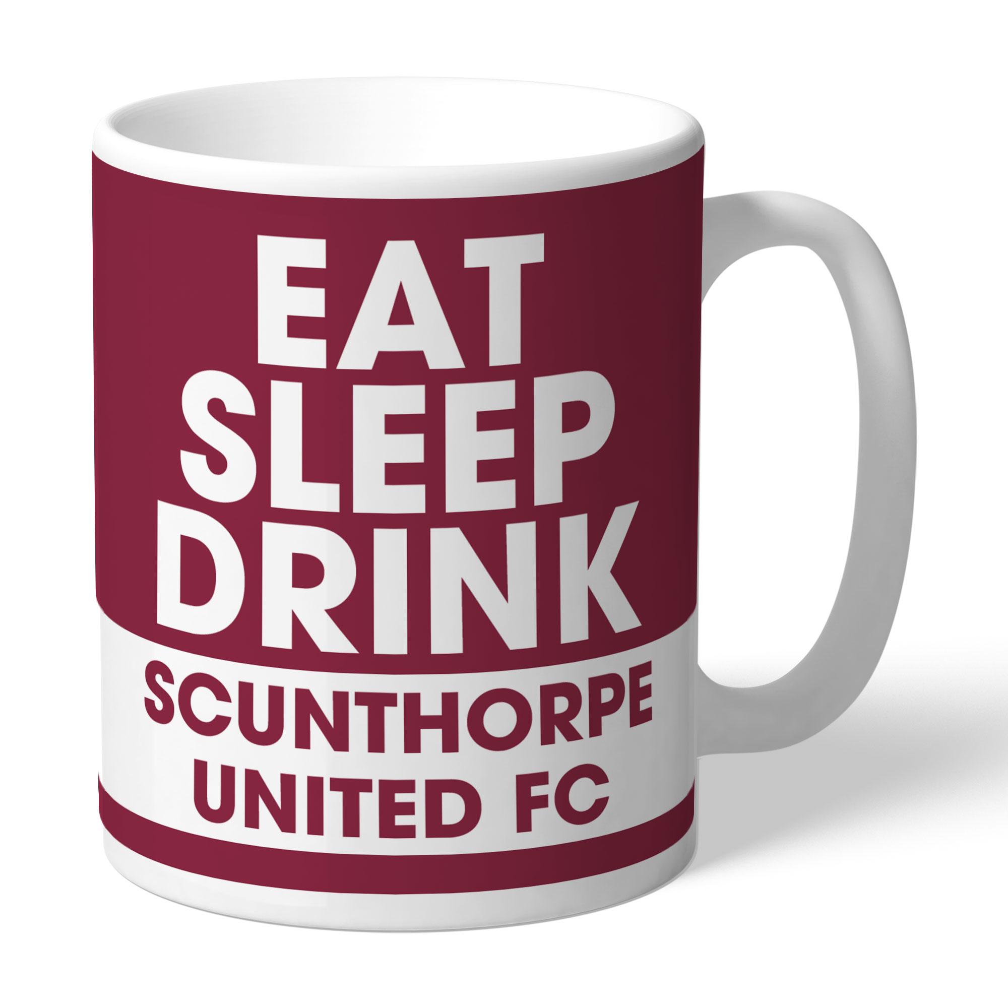 Scunthorpe United FC Eat Sleep Drink Mug