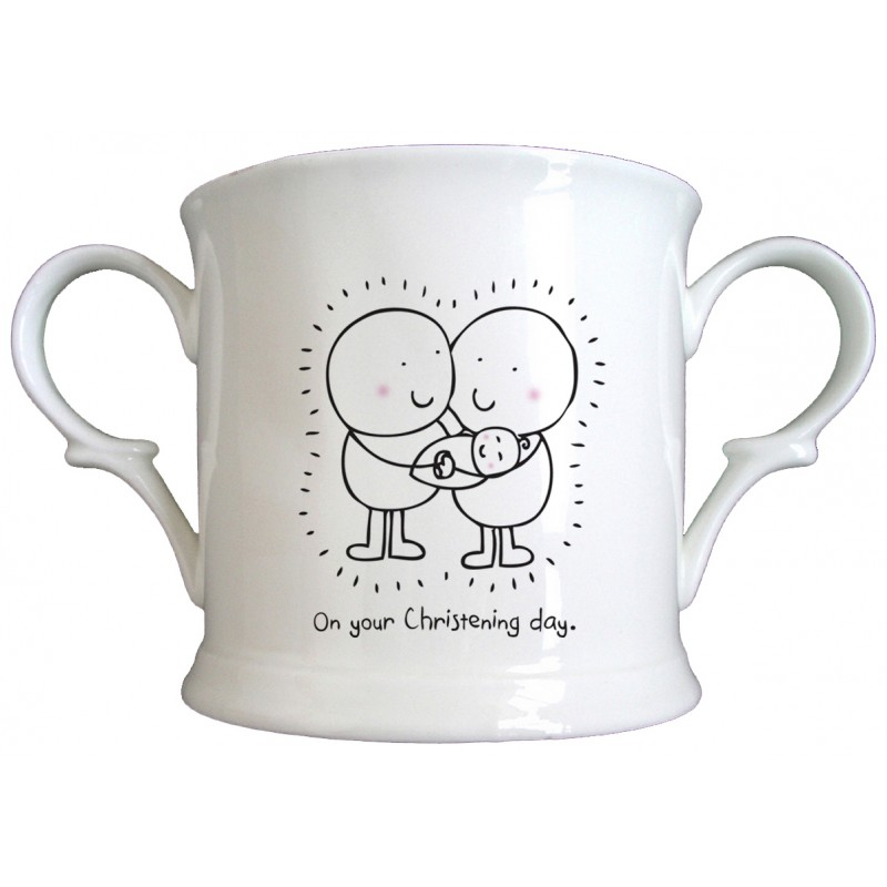 Chilli & Bubble's Christening Loving Cup