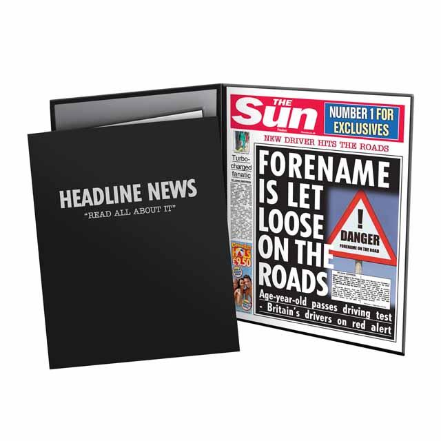 The Sun Passes Driving Test News Folder - Male