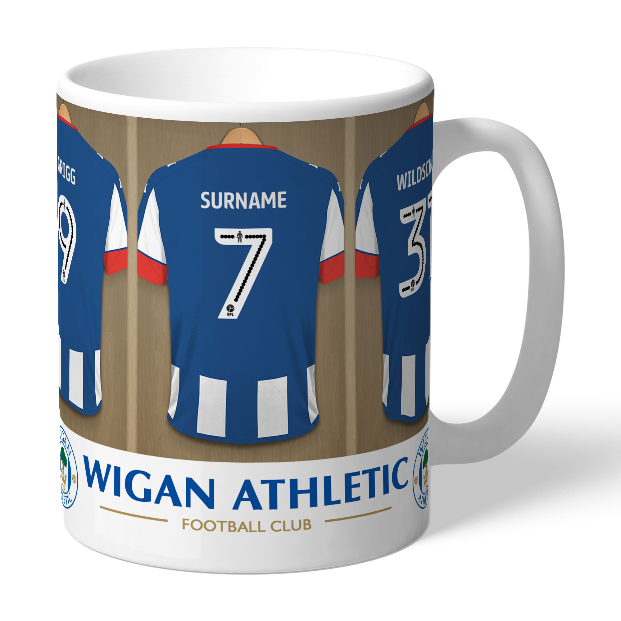 Wigan Athletic FC Dressing Room Mug