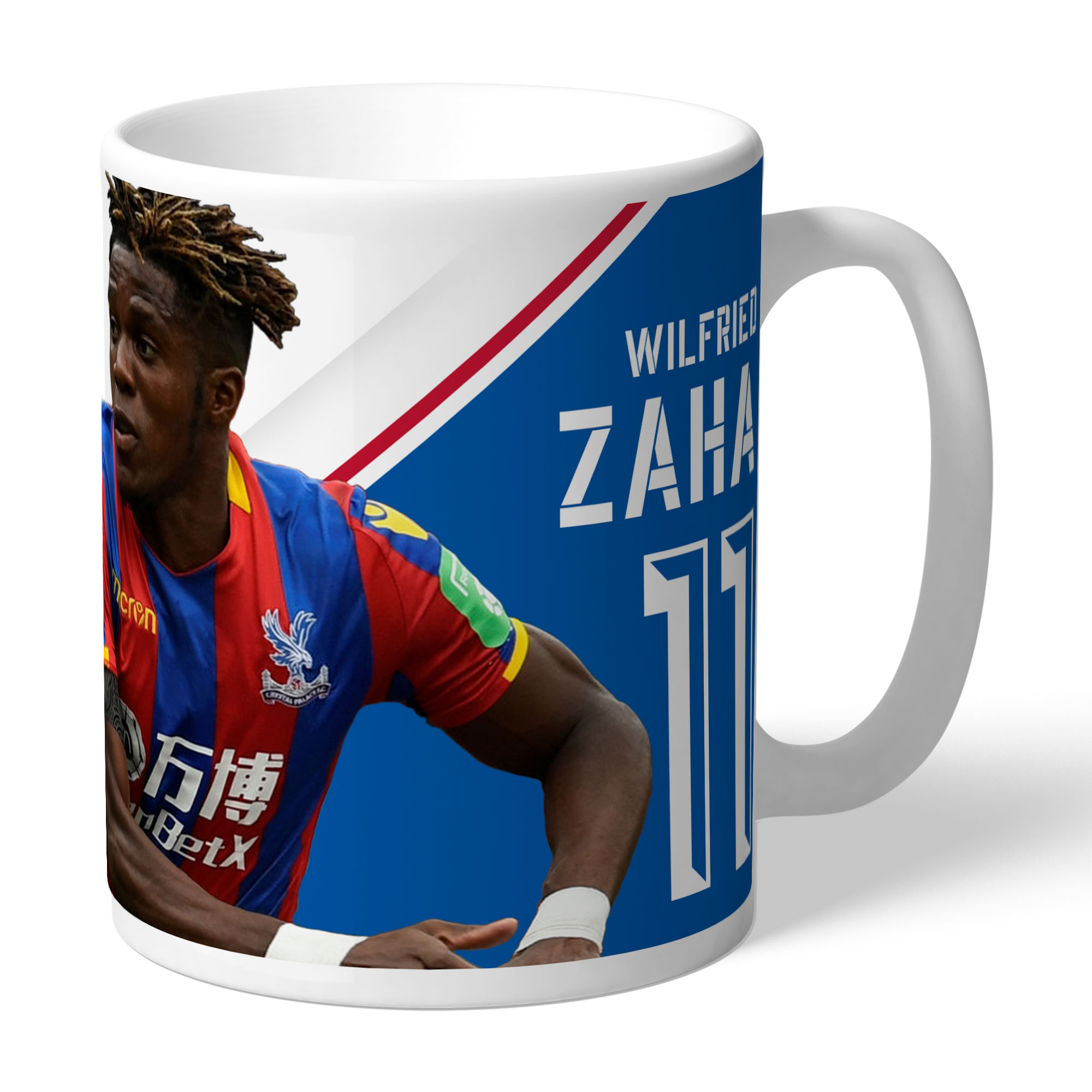 Crystal Palace FC Zaha Autograph Mug