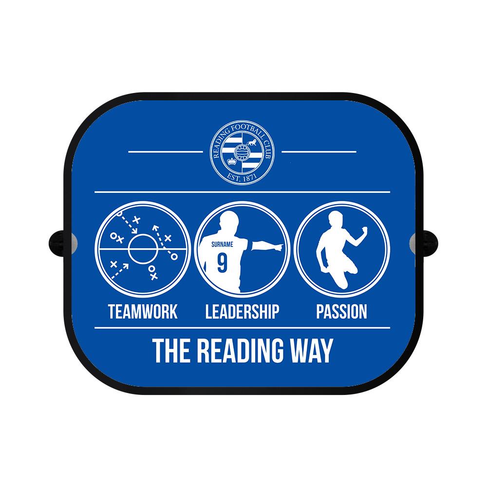 Reading FC Way Car Sunshade