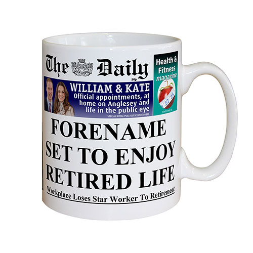 The Daily Retirement Mug