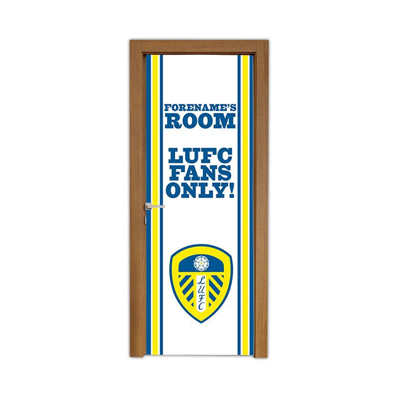 Leeds United FC Stripe Door Banner