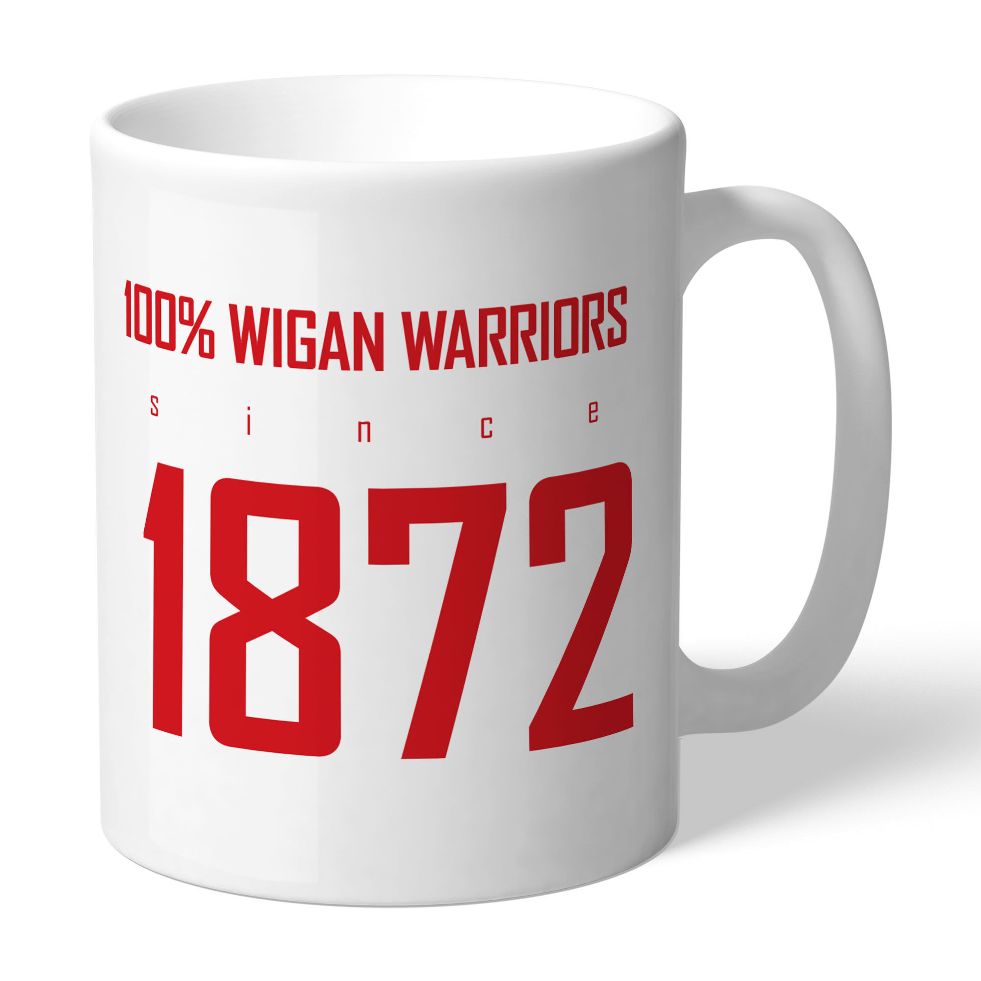 Wigan Warriors 100 Percent Mug