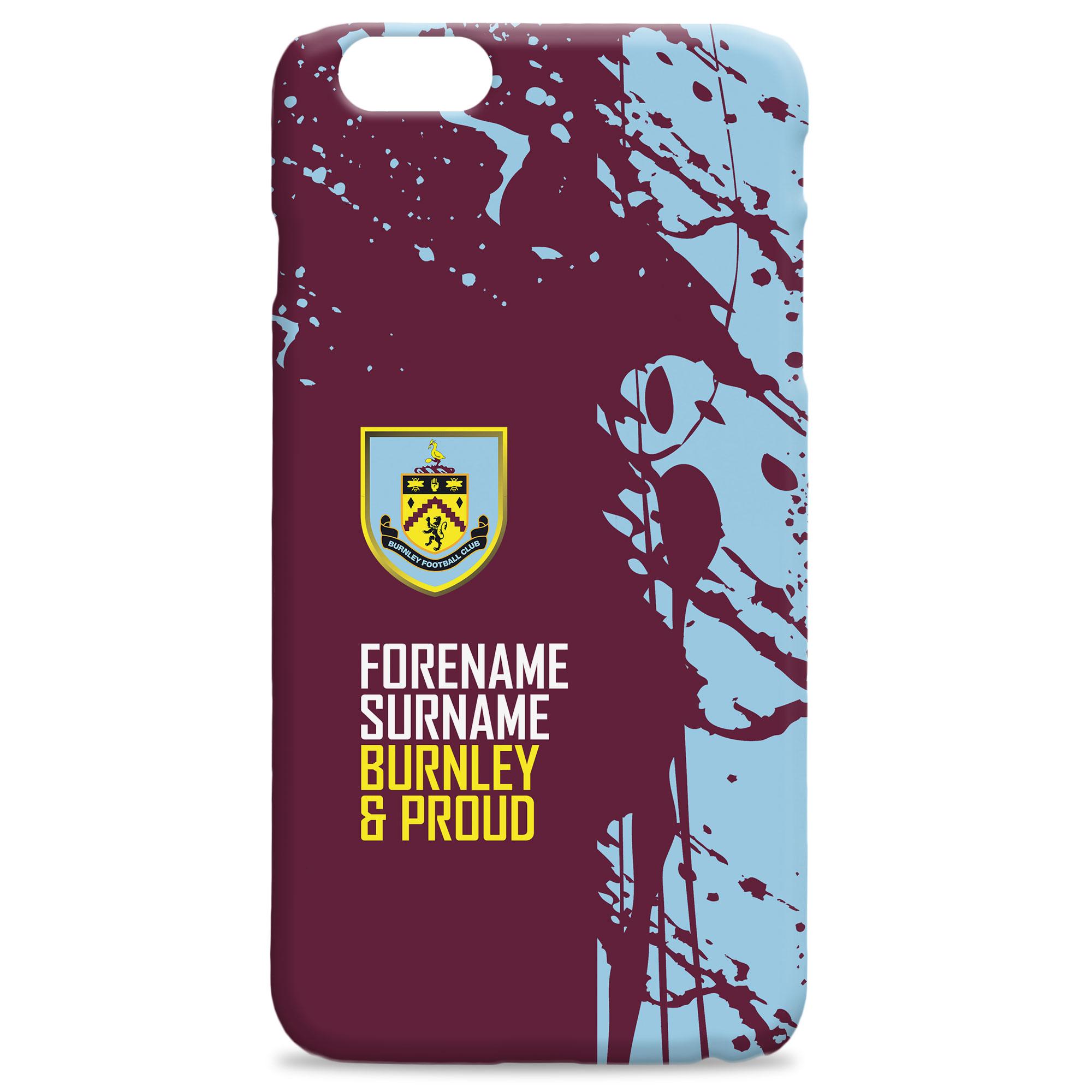 Burnley FC Proud Hard Back Phone Case
