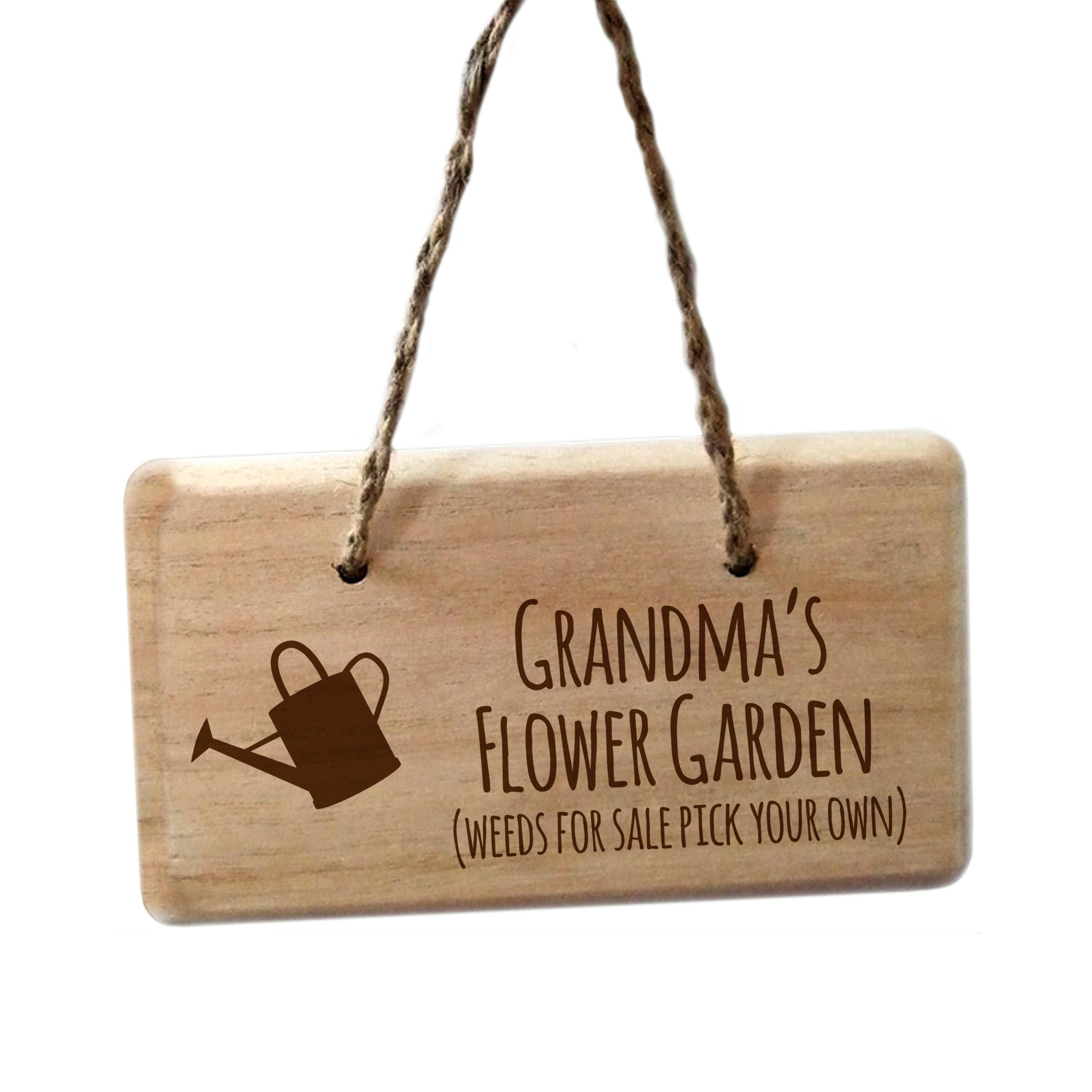 Weeds For Sale Garden Sign
