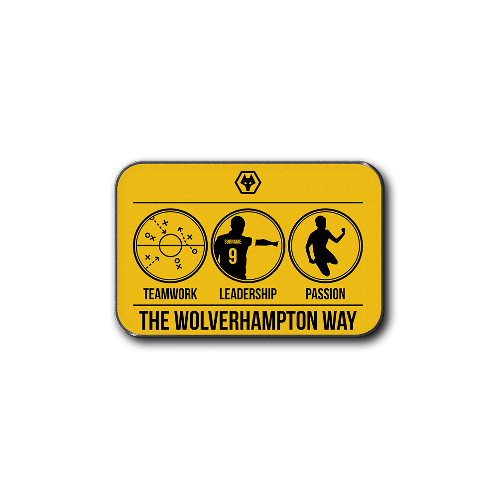 Wolves Way Rear Car Mat