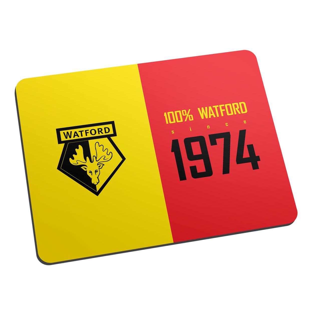 Watford FC 100 Percent Mouse Mat