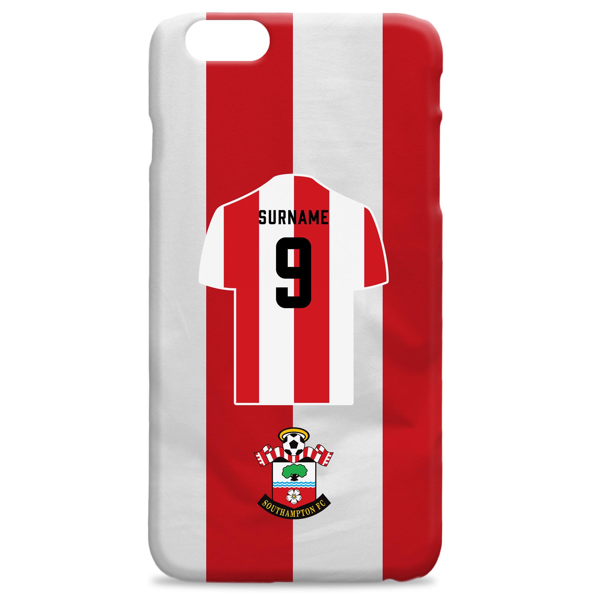 Southampton FC Shirt Hard Back Phone Case