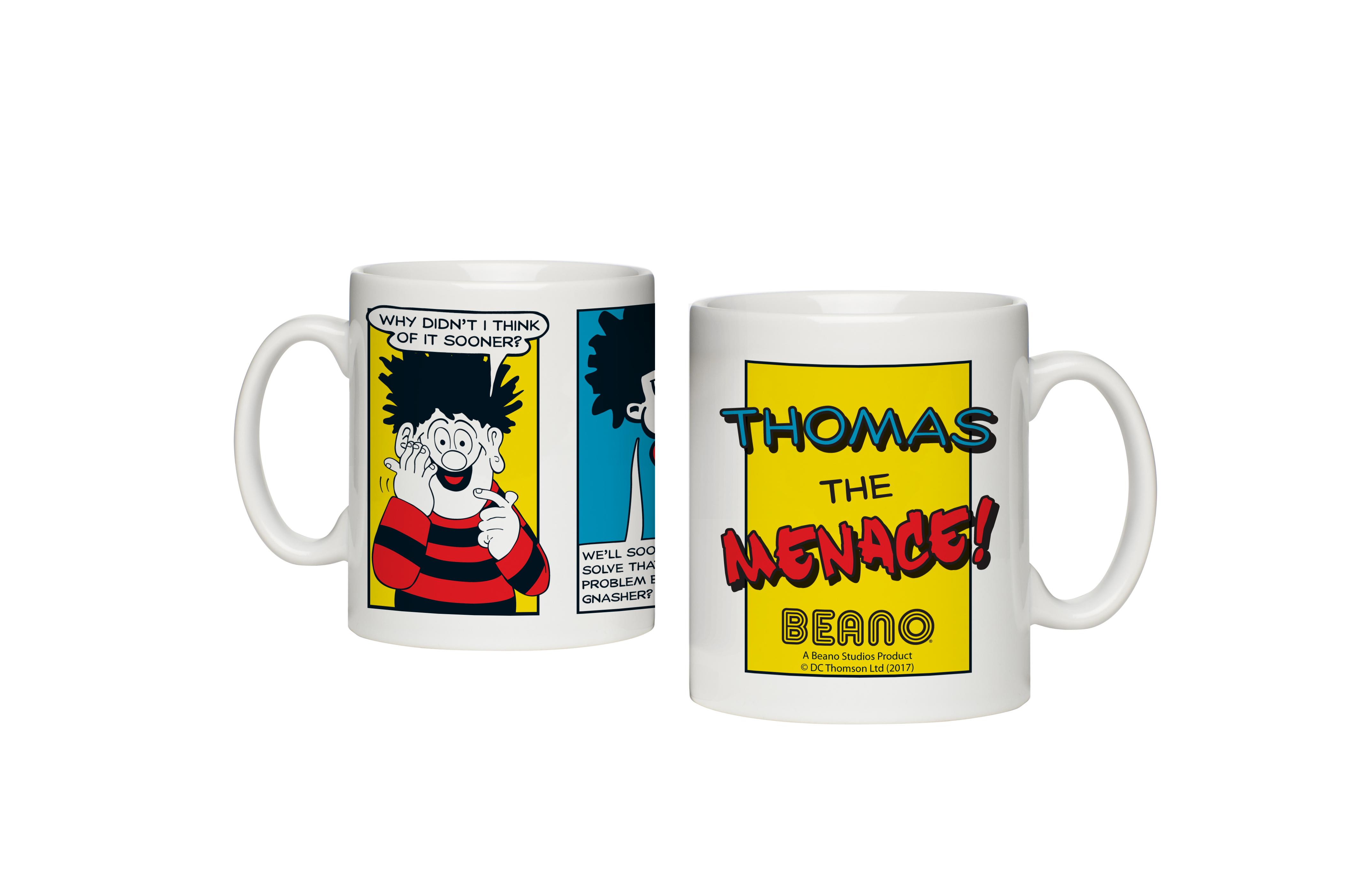 Beano Classic Comic Strip Problem Solved Mug