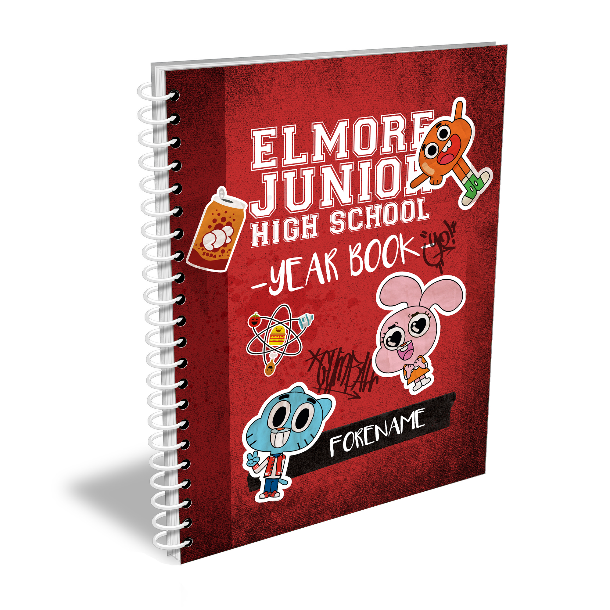 Gumball Yearbook Notebook