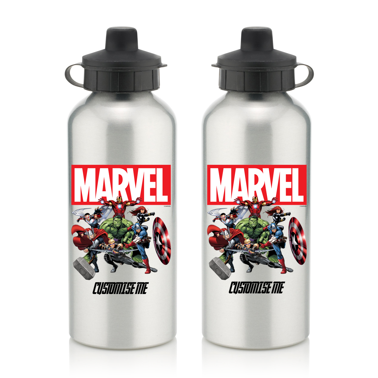 Marvel Avengers Group Water Bottle