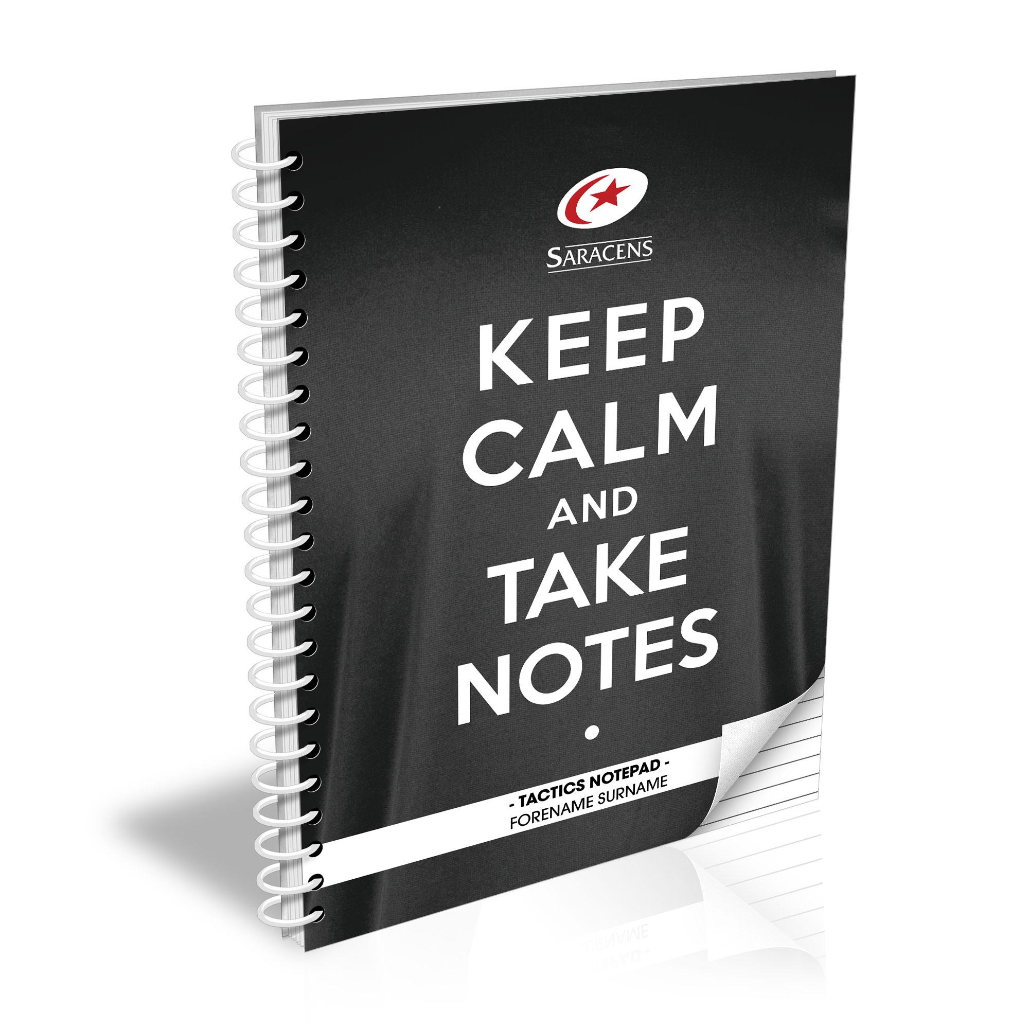 Saracens Keep Calm Notebook