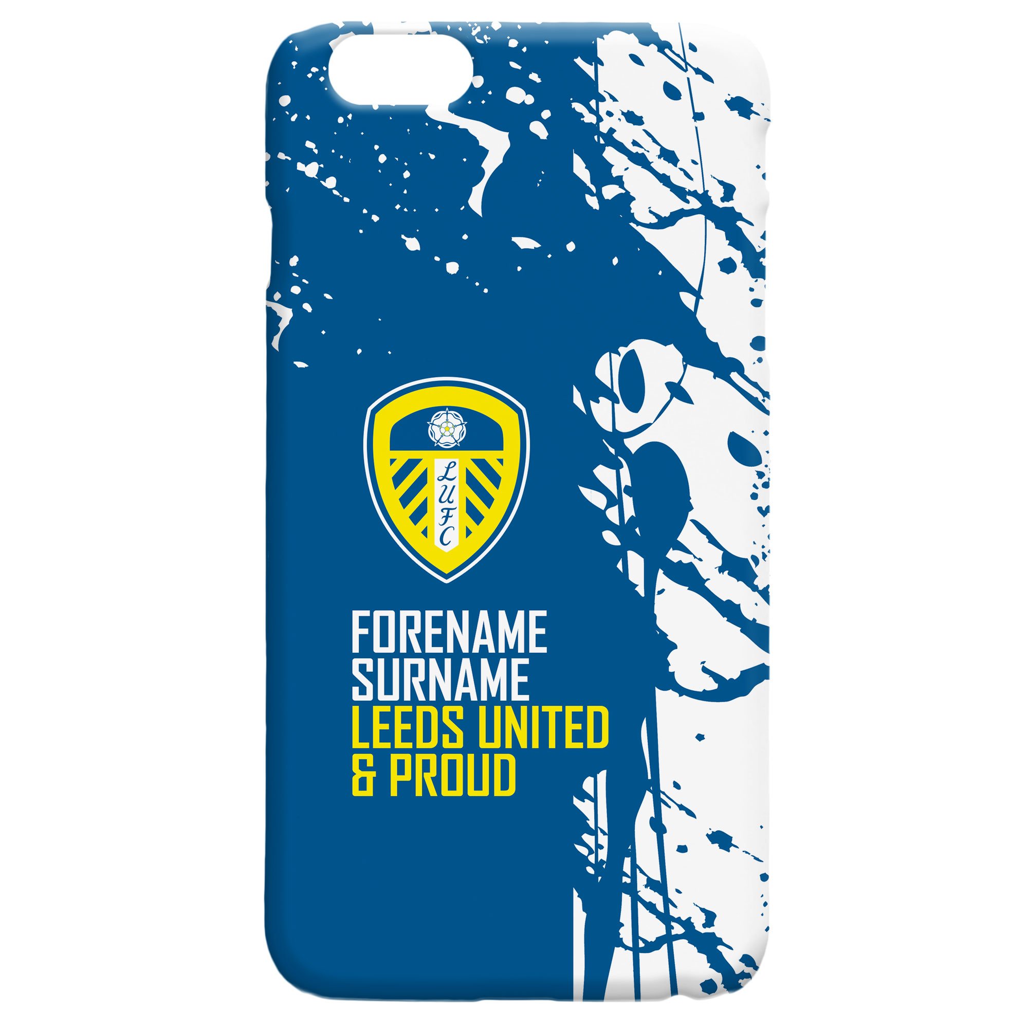 Leeds United FC Proud Hard Back Phone Case