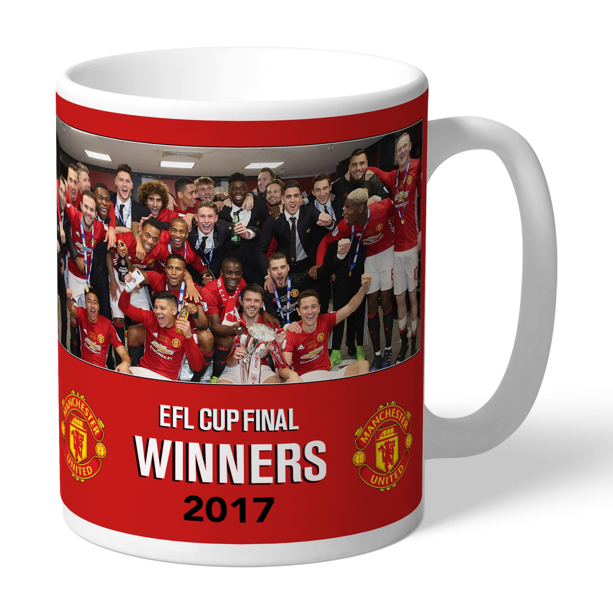 Manchester United FC EFL Cup Winners 2017 Mug