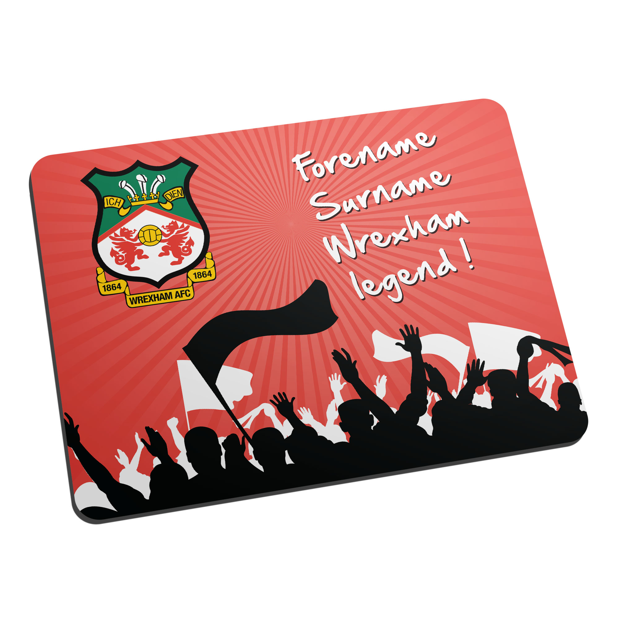 Wrexham AFC Legend Mouse Mat