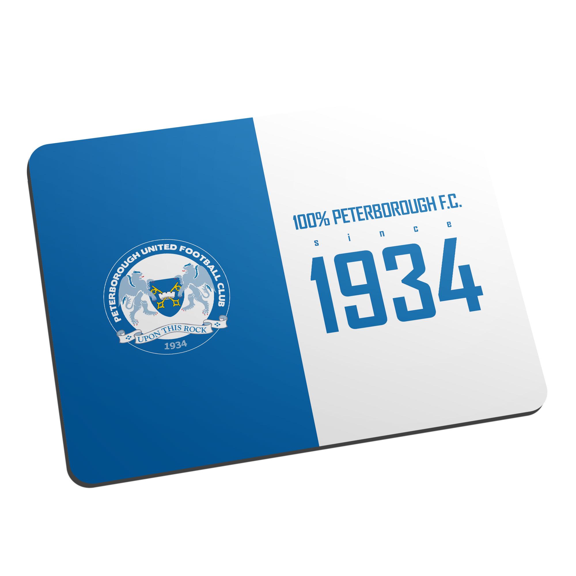 Peterborough United FC 100 Percent Mouse Mat