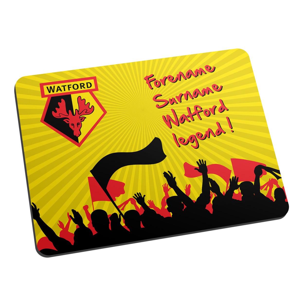 Watford FC Legend Mouse Mat