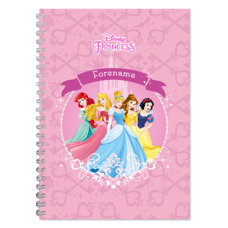 Disney Princess Group A5 Notepad