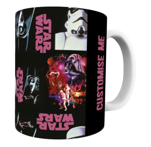 Star Wars Classic Poster Print Mug