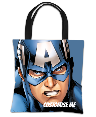 Marvel Avengers Assemble Captain America Tote Bag