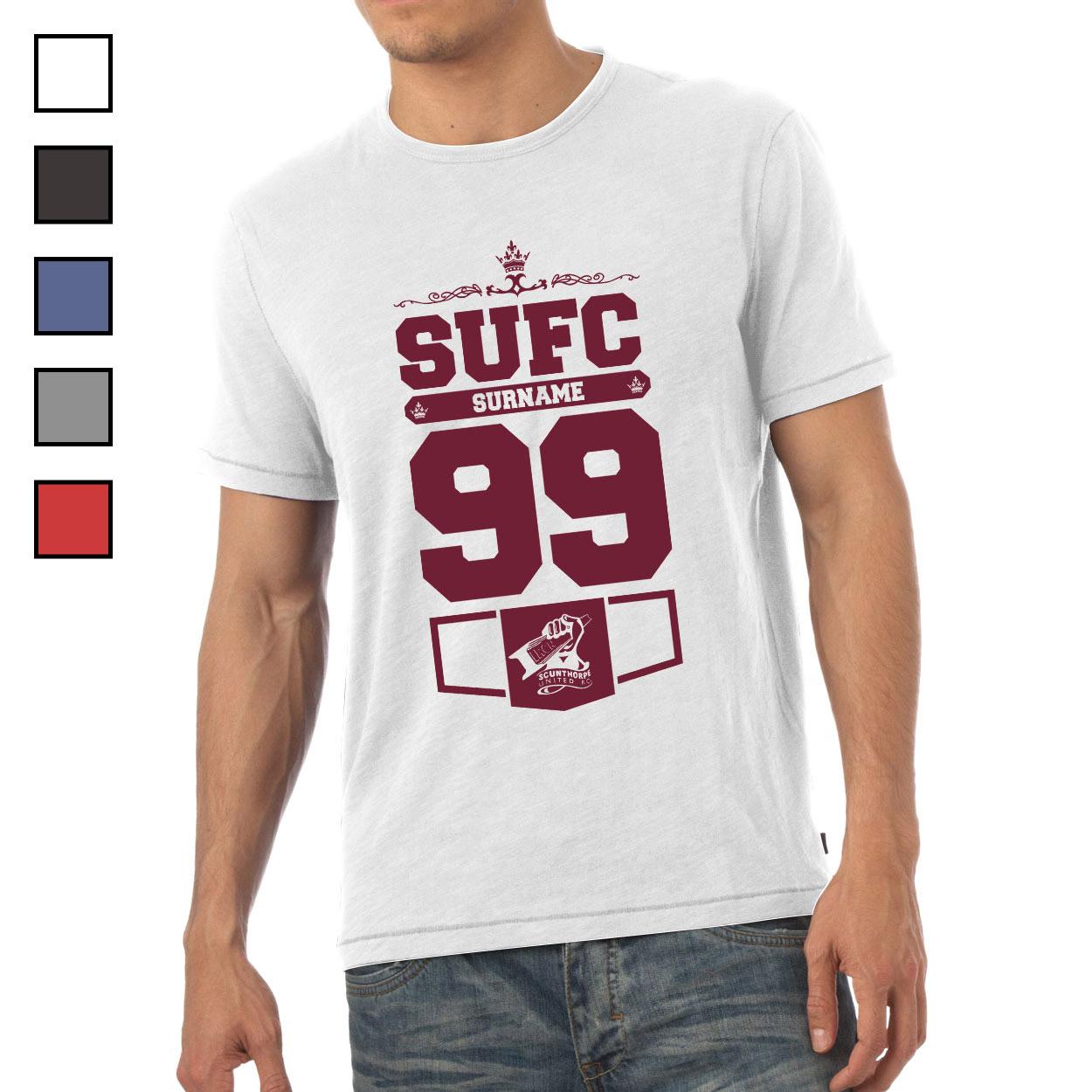 Scunthorpe United FC Mens Club T-Shirt