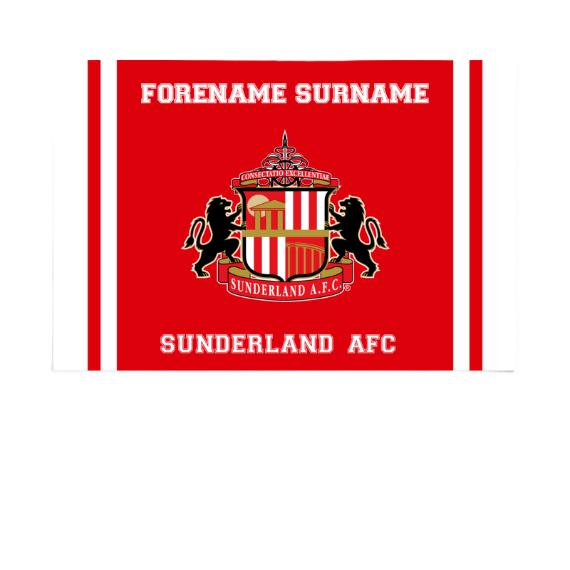 Sunderland Crest 6ft x 4ft Banner